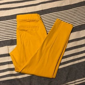 Old Navy Pants - Yellow Old Navy Pixie Pants